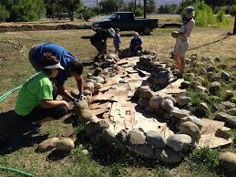Raised Rock Garden by Uncategorized Indigenous Farming Project Blog