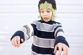 Boys Frankenstein Halloween Costume Fleece Frankenstein Hat Tutorial