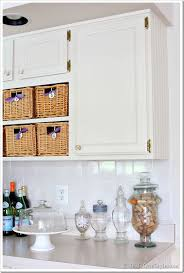 Easy Kitchen Decorating Ideas One Yard Decor Inset Kitchen Cabinet Memo Board And More In