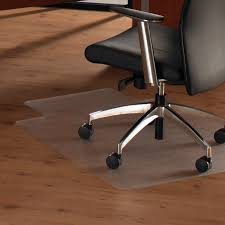 office chair mats made from tough pvc rectangular shape with a