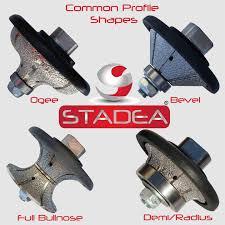 Bullnose Tile Blade 10 by Stadea Diamond Profile Wheel Profile Grinding Wheel Full