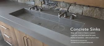 Bathroom Sinks And Countertops - trueform concrete custom tables sinks counters