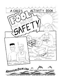 adventure swim coloring pages
