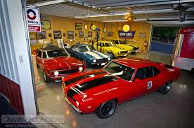 dream garages 1969 chevrolet camaro collection classic rich has accumulated a dream collection of 1969 chevrolet camaros
