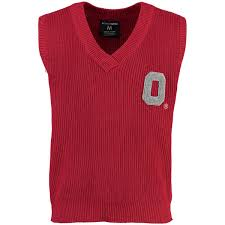 sweater vest s scarlet ohio state buckeyes sweater vest the official