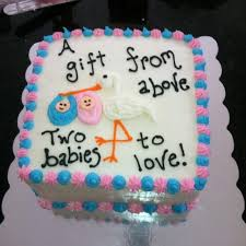 very good inspiration twin baby shower cakes and magnificent best