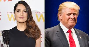 Trump Presidential Makeover by Salma Hayek Says Donald Trump Leaked A Fake Story About Her After