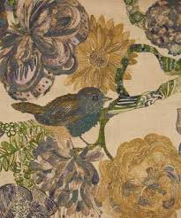 Upholstery Fabric With Birds Upholstery Furnishing Fabric Fabric Liberty London