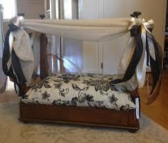 dog home decor dog canopy bed korrectkritterscom