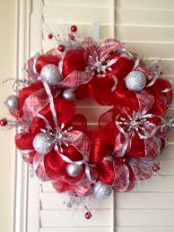 winter deco mesh wreath deco mesh magic pinterest wreaths