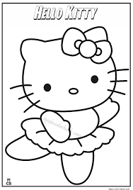 kitty coloring pages 07