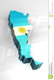 Argentina Flag Photo 3d Flag Map Of Argentina Stock Illustration Illustration Of