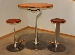Bar Table Design by De Haviland Bar Table And Propeller Stools Made From Salvaged