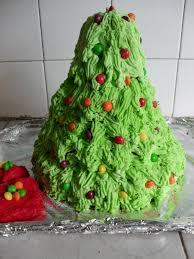 cake christmas tree christmas lights decoration