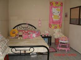 Decor For Bedroom by Hello Kitty Bedroom Ideas