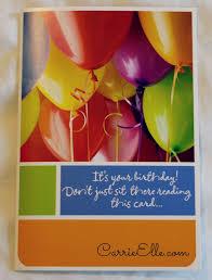 Hallmark Birthday Card Hallmark Cards Make December Birthdays Special Carrie Elle