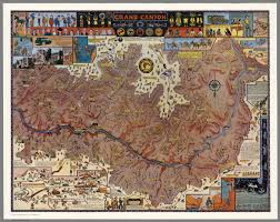 Map Grand Canyon Grand Canyon David Rumsey Historical Map Collection
