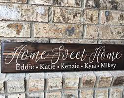 new home sign etsy