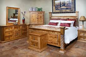 Rustic Bedroom Furniture Sets by Rustic Furniture Phoenix Az La Casona