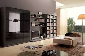 Simple Living Room Furniture Designs Furniture Astounding Cream Bookshelf For Your Interior Decorating