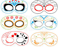coloring cute clown mask template clr coloring clown