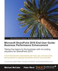 microsoft sharepoint 2010 end user guide business performance