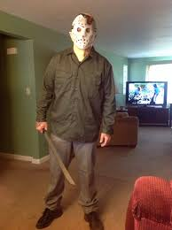jason voorhees costume my almost finished jason voorhees costume r horror liked it