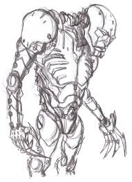 wobot pencil sketch by richard chin on deviantart