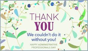 thank you e card thank you ecard free administrative professionals day cards online