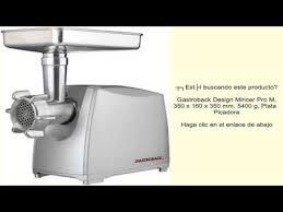gastroback 41403 design fleischwolf plus gastroback design mincer pro m 350 x 160 x 350 mm 5400 g plata