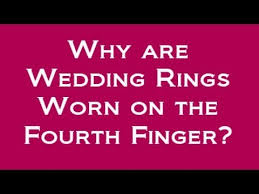 What Hand Does A Wedding Ring Go On by Why Do We Wear Wedding Rings On Our Left Hand On The Fourth Finger