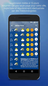 gadget de bureau meteo météo android apps on play