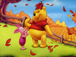 disney autumn piglet and winnie the pooh wallpaper puzzles