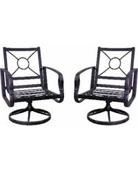 Swivel Rocking Chairs For Patio Don U0027t Miss This Bargain Aspen Swivel Rocking Chair Set Apen