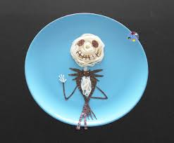 jack skellington halloween food art bento days