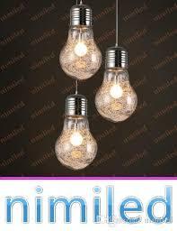 Colored Chandelier Light Bulbs Discount Nimi891 S M L Simple Big Bulb Light Pendent Lights Bulb