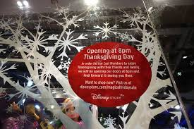 opening at 8pm thanksgiving day for grey thursday sign at the