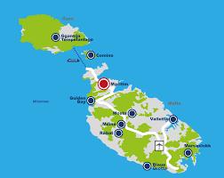 Malta World Map Maps U0026 Transportation Hotel Malta Book Hotels Malta Maritim