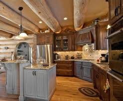 Mixing Kitchen Cabinet Colors Mixing Cabinet Colors With Pendant Lighting Kitchen Beach Style