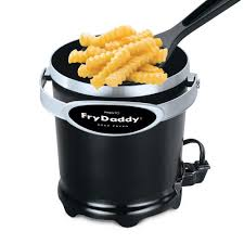 presto kitchen appliances frydaddy electric deep cooker with scoop fry basket kitchen
