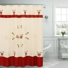 Creative Curtain Ideas Creative Home Ideas 70 In X 72 In Santa Embroidered Shower