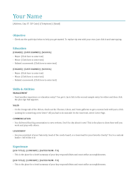 Sample Resume Objectives For Trades by 3 Types Of Resumes Resume For Your Job Application