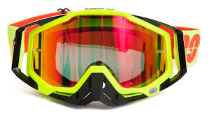 100 motocross goggle racecraft lindstrom 100 crossbrille the racecraft neon sign rot verspiegelt 2017