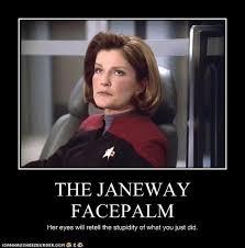 Meme Facepalm - triple facepalm meme facepalm patri star trek voyager pinterest