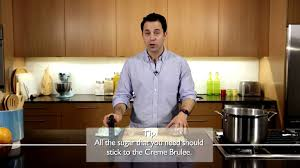mastering the basics how to torch a creme brulee youtube