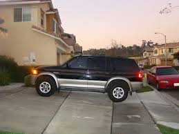 1998 mitsubishi montero sport information and photos zombiedrive