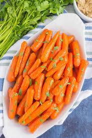 Thanksgiving Carrots Maple Brown Sugar Glazed Carrots Pumpkin U0027n Spice