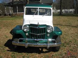 jeep willys wagon for sale willys jeep station wagon 27 686 right miles mint condition