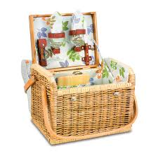 wine picnic baskets time kabrio wine basket botanica