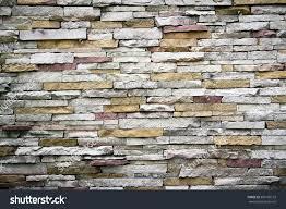 Stone Brick Contemporary Modern Stone Wall Texture Background Stock Photo Up